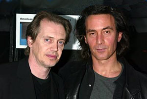 Buscemi and DiCillo at the Double Whammy premiere