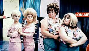 Colleen Fitzpatrick, Debbie Harry, Divine and Ricki Lake in the movie
