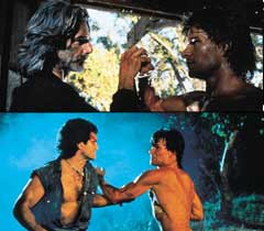 Swayze gets busy in scenes from the original
