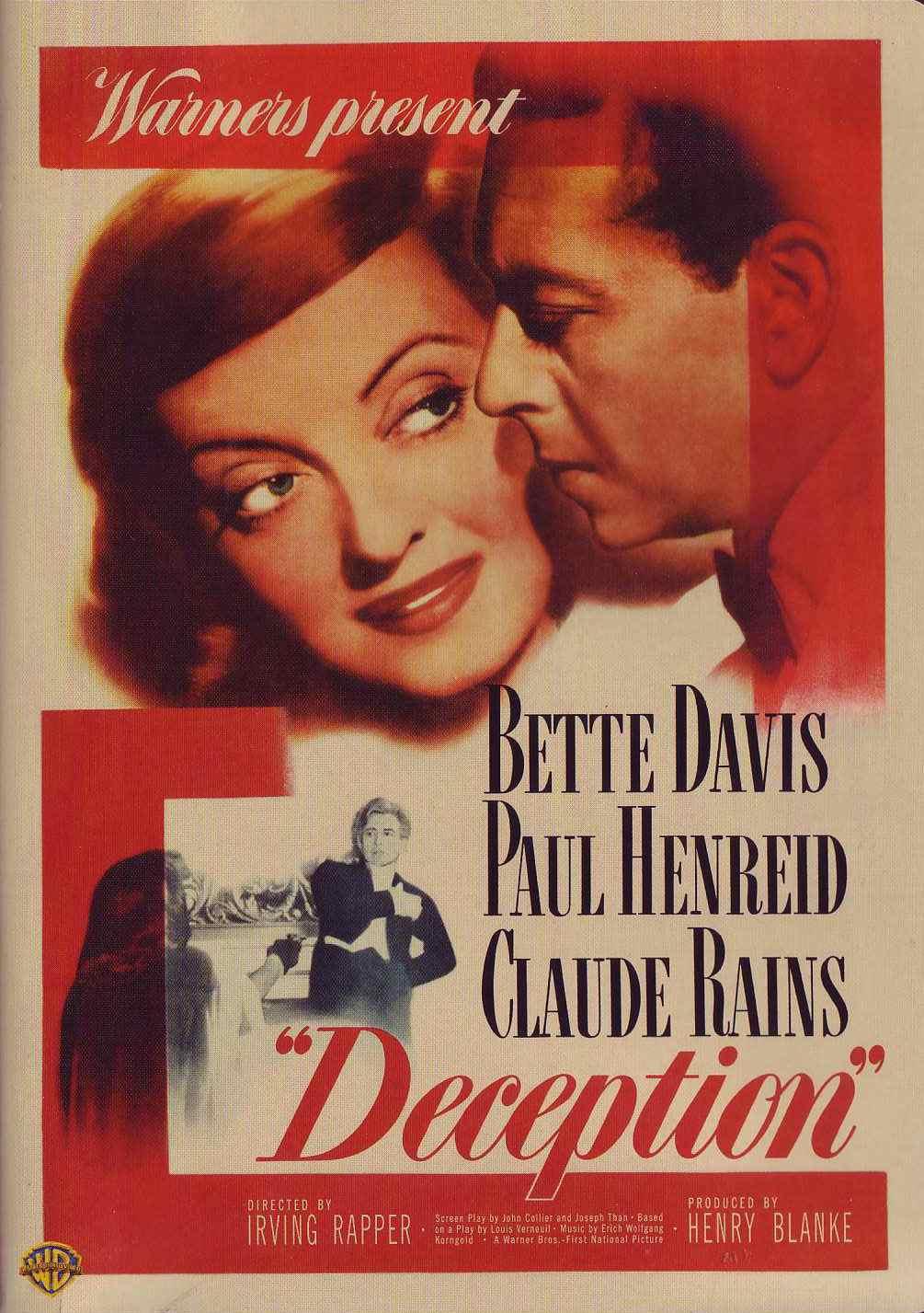 Deception (1946 film) DVD Savant Review Deception