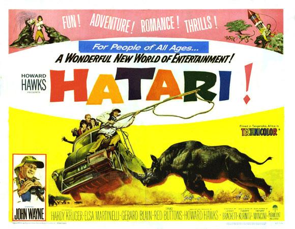 dvd savant review hatari
