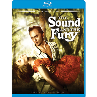 dvd savant blu ray review the sound and the fury the sound and the fury blu ray twilight time 1959 color 2 35 widescreen 115 min street date 10 2012 available through screen archives