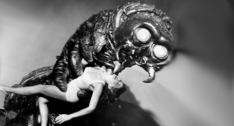 Image result for the monster that challenged the world (1957)