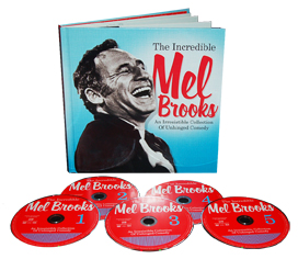 The Incredible Mel Brooks - An Irresistible Collection Of Unhinged Comedy