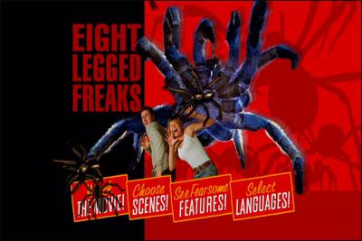 Eight Legged Freaks has cool menus