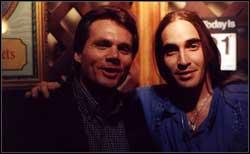 Director MA Galluzzo on the right