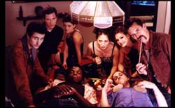 The cast of RSVP