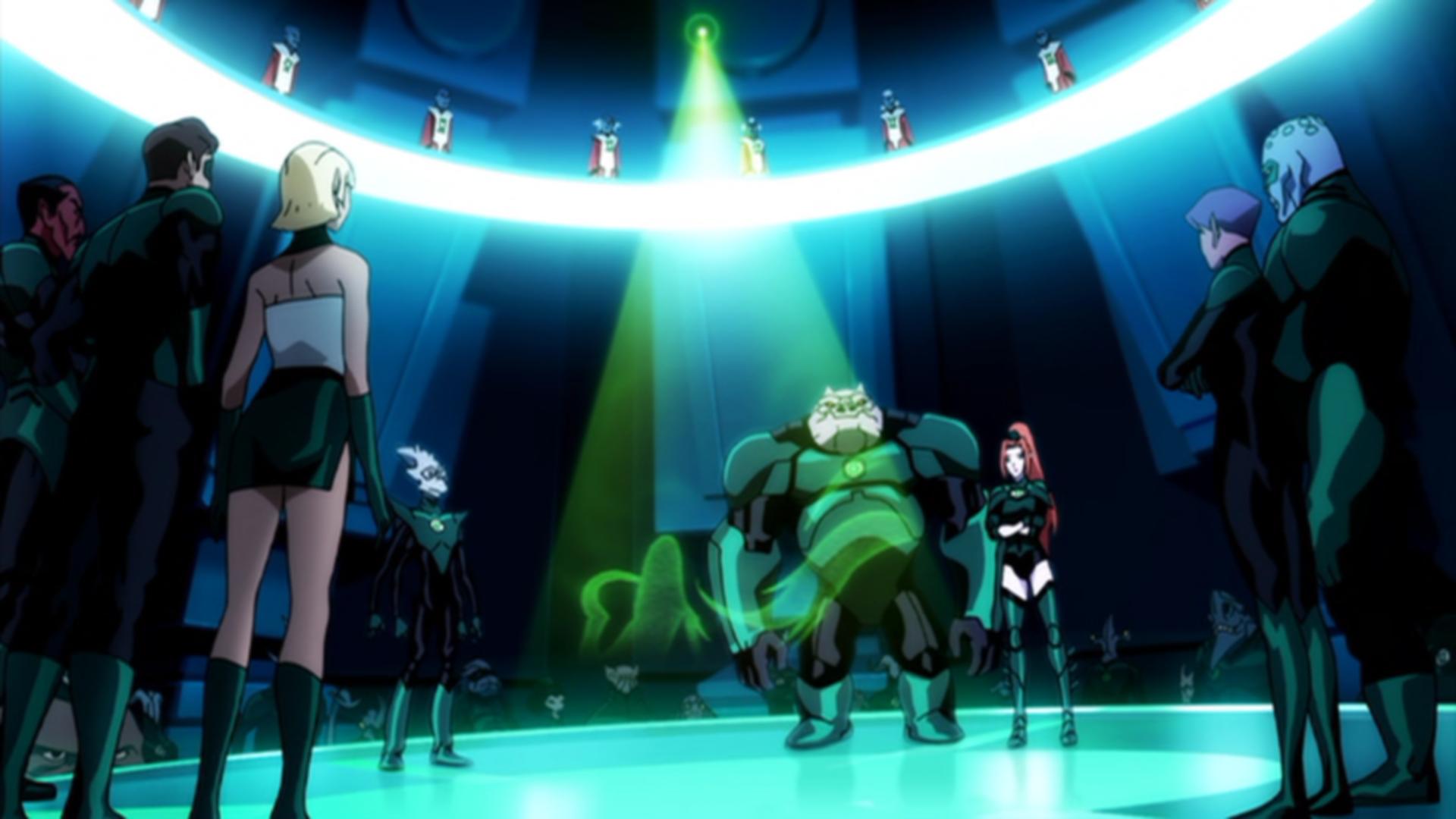 Green Lantern Emerald Knights Episode 2