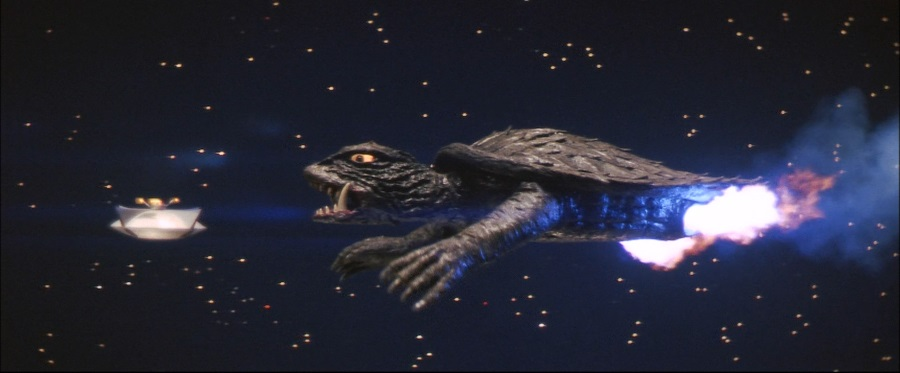 Gamera Flying Additional Gamera vs
