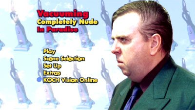 Vacuuming Completely Nude in Paradise Review   DVD Video