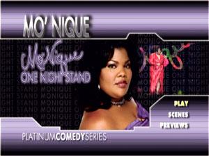 Platinum Comedy Series: Mo' Nique One Night Stand : DVD Talk