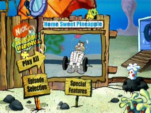SpongeBob SquarePants - Home Sweet Pineapple : DVD Talk Review of ...