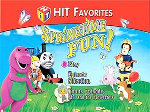 Hit Favorites Springtime Fun Dvd Talk Review Of The Dvd Video