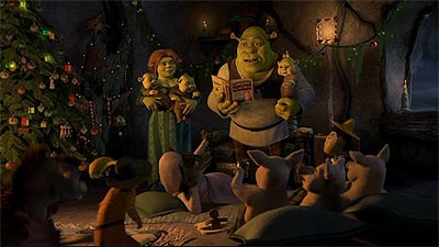 Shrek the Halls : DVD Talk Review of the DVD Video