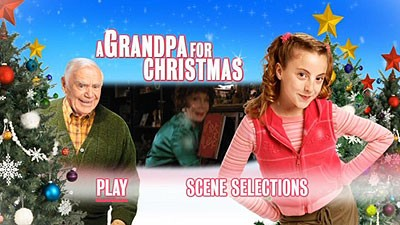 a one disc release this dvd is packed in a standard keepcase and features an animated anamorphic widescreen menu with options to watch the film and select - A Grandpa For Christmas