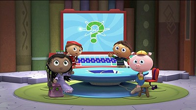 The Characters Including Alpha Pig Wonder Red Princess Presto And Super WHY Are All Based On Fairy Tales As Well Except Lead Hero WHYatt