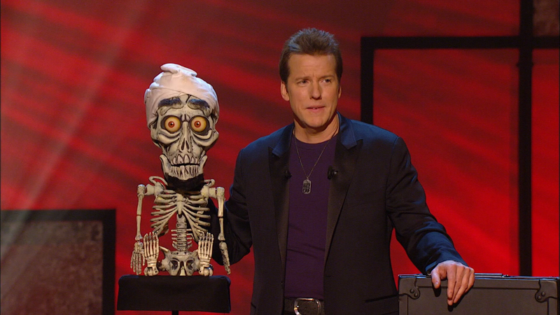jeff dunham controlled chaos blu ray dvd talk review. Black Bedroom Furniture Sets. Home Design Ideas