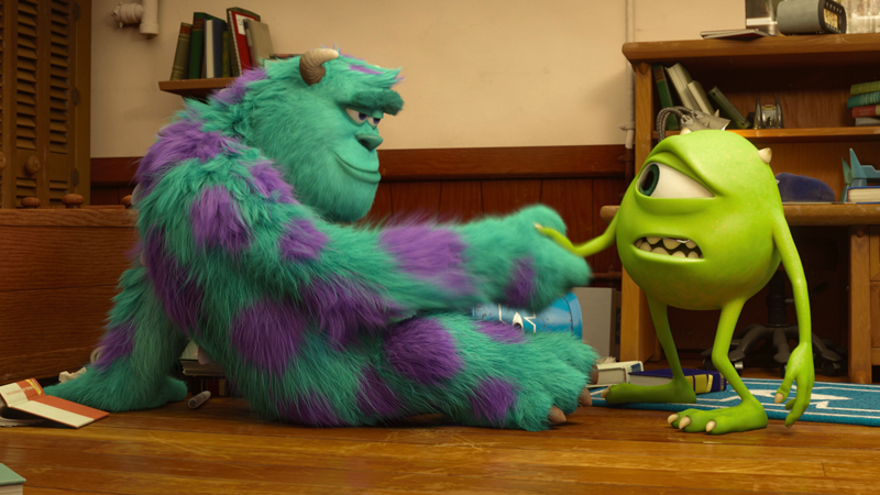 Monsters university blu ray dvd talk review of the blu ray voltagebd Image collections