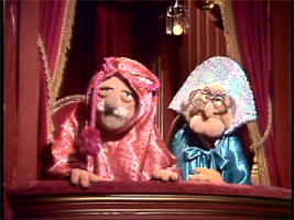 The muppet show season two dvd talk review of the dvd for Balcony muppets