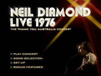 When did Neil Diamond last tour Australia - answers.com