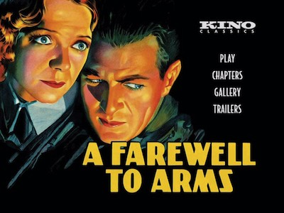 a review of the story of a farewell to arms There is a noticeable difference between the structures of a farewell to arms as ernest hemingway wrote it and as david o selznick now presents it on the screen.