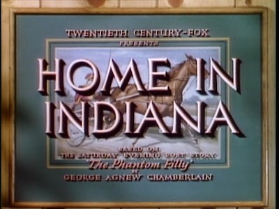 Home In Indiana : DVD Talk Review of the DVD Video
