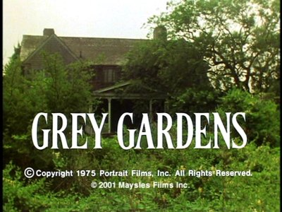 Grey Gardens - The Masters of Cinema Series : DVD Talk Review of the ...