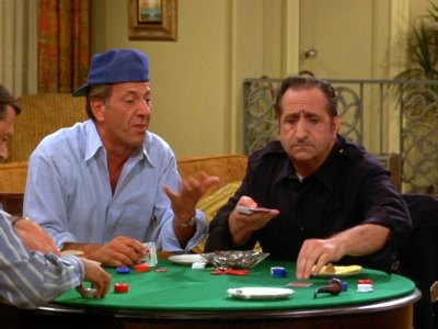 Image result for images of al molinaro playing poker on odd couple
