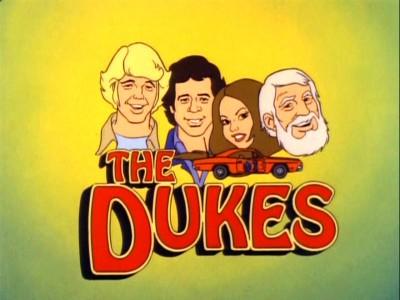Dukes of Hazzard Cartoon DVD