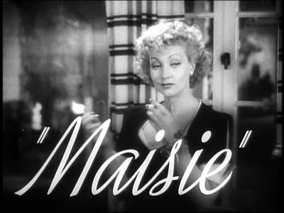 Maisie 1939
