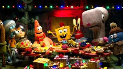Spongebob Christmas.Spongebob Squarepants It S A Spongebob Christmas Dvd