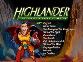 Highlander: The Complete Animated Series : DVD Talk Review ...