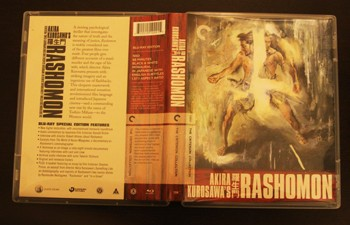 rashomon the criterion collection blu ray dvd talk review of  the striking image of tajomaru in a lovely colorful design adorns the front of the criterion collection s blu ray upgrade for rashomon which comes in