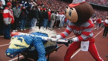 Ohio state vs michigan rivalry