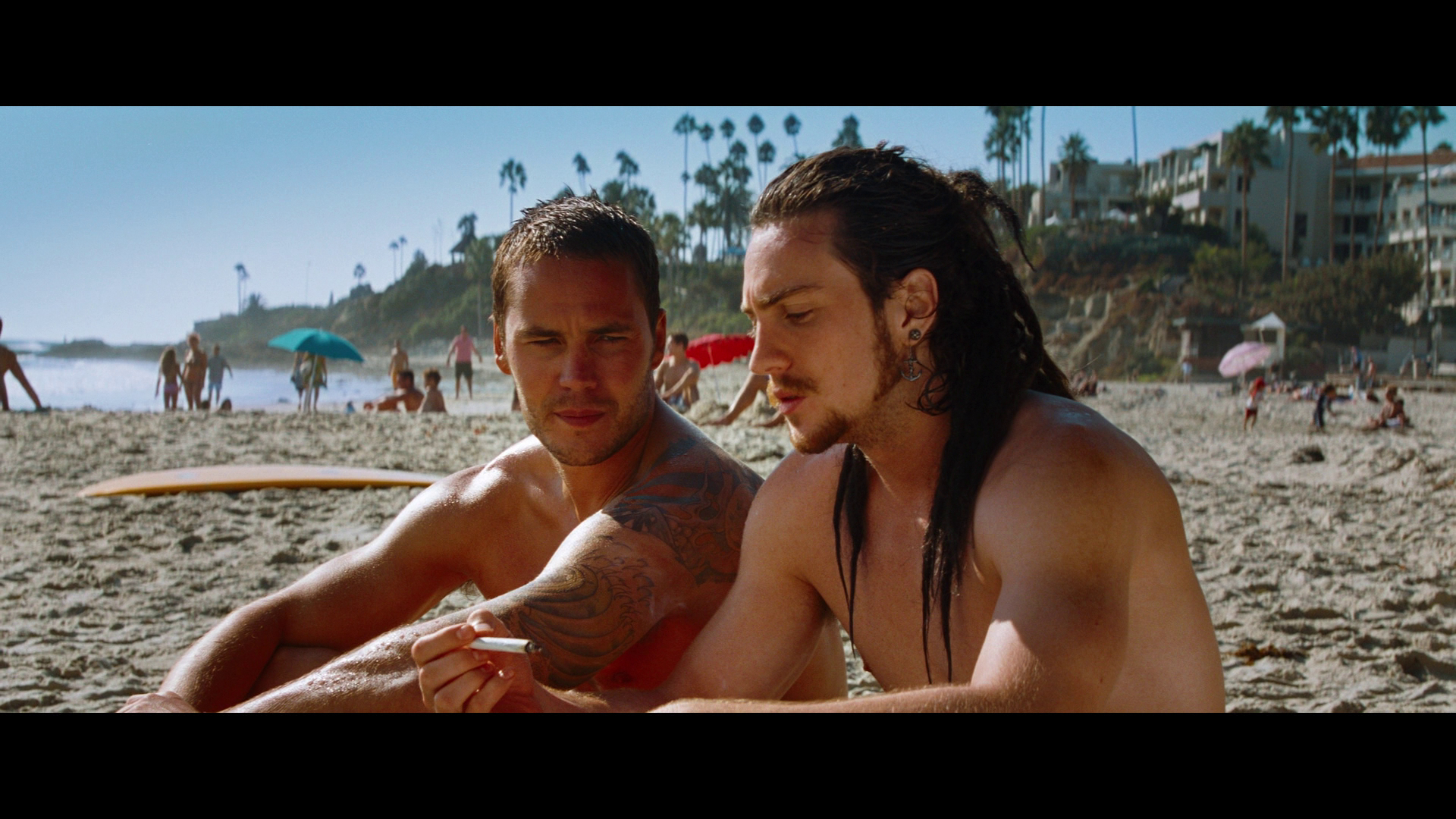 Click an image to view Blu-ray screenshot with 1080p resolution Aaron Taylor Johnson Savages Tattoo
