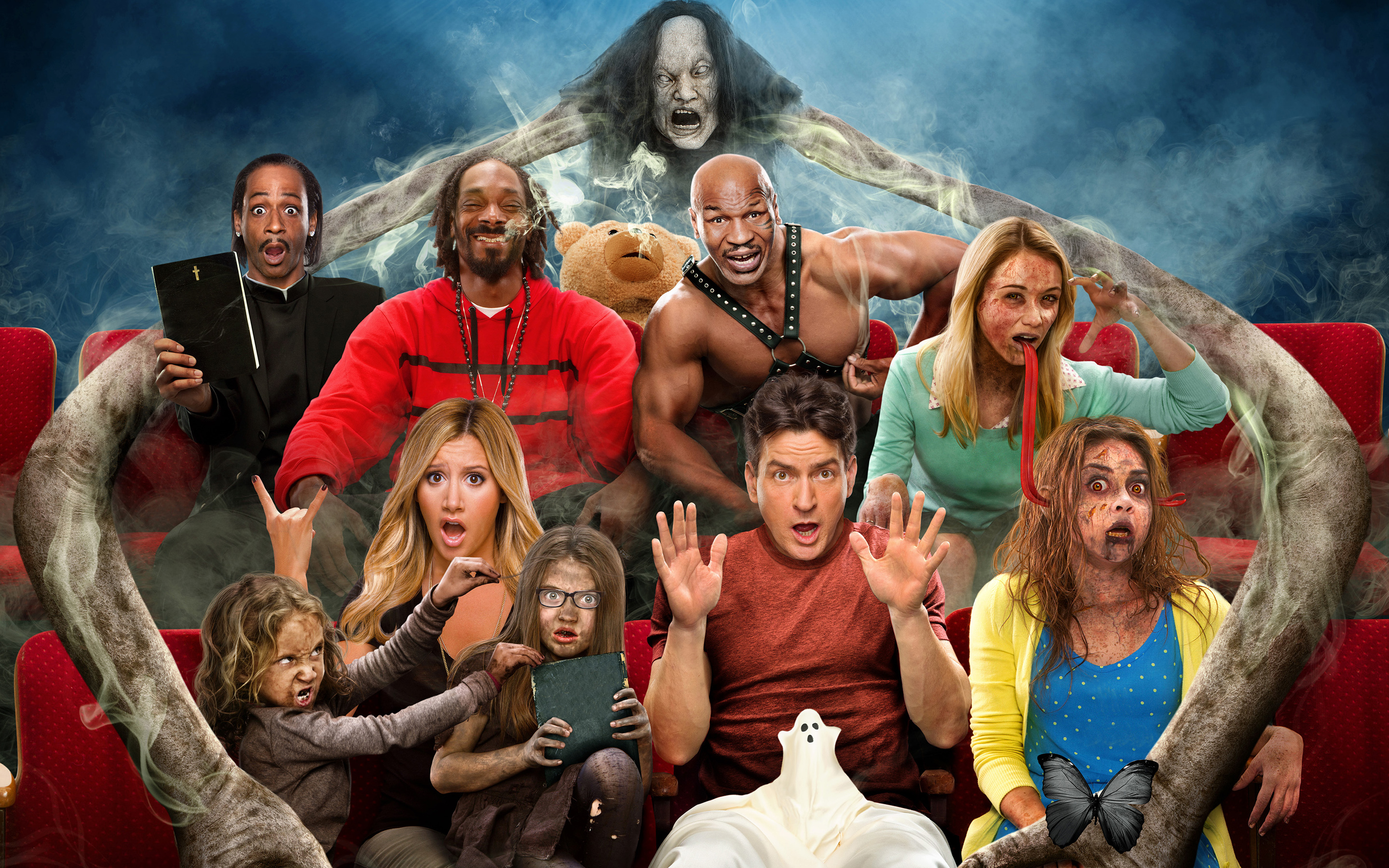 Scary Movie 5 Blu Ray Dvd Talk Review Of The Blu Ray