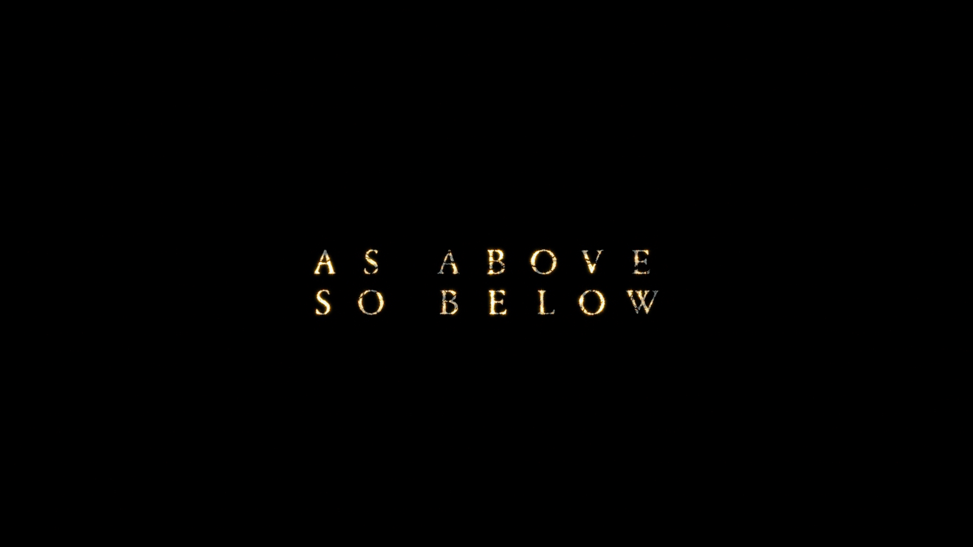 As Above So Below Blu Ray Dvd Talk Review Of The Blu Ray