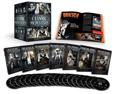 Universal Classic Monsters Complete Collection