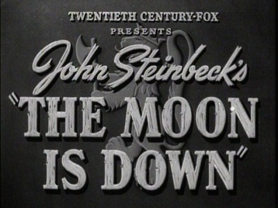 The Moon Is Down : DVD Talk Review of the DVD Video