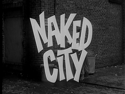 Naked city tv show