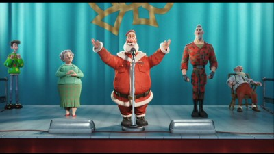 Arthur Christmas Santa.Arthur Christmas Blu Ray Dvd Talk Review Of The Blu Ray