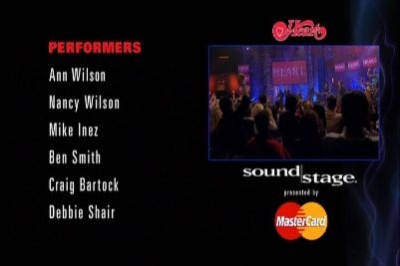 Soundstage Presents: Heart Live : DVD Talk Review of the DVD