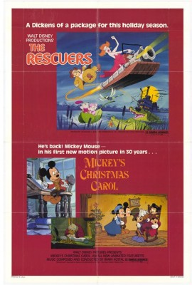 mickeys christmas carol was a big deal when it was new for one thing mickey mouse hadnt appeared in any theatrical shorts since 1953s the simple things - Mickeys Christmas Carol Dvd