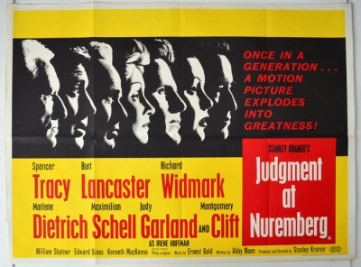 The jurists trial in judgment at nuremberg a play by abby mann