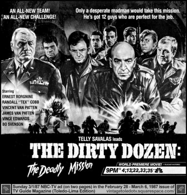 The Dirty Dozen: The Deadly Mission / The Dirty Dozen: The