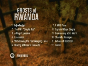 summary of ghosts of rwanda Ghosts of rwanda, after watching the film, write a two-page or longer response paper (typed and double-spaced) your paper should.