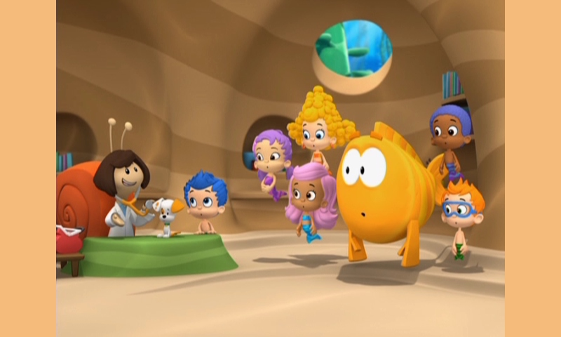 Bubble Guppies: Animals Everywhere! : DVD Talk Review of the