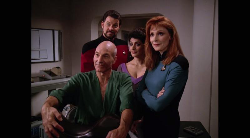 Star Trek: The Next Generation - Season Six (Blu-ray) : DVD