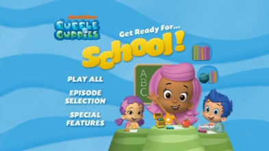 Bubble Guppies: Get Ready for School! : DVD Talk Review of