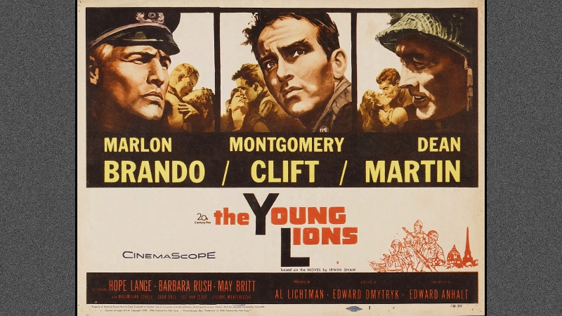 Image result for the young lions poster